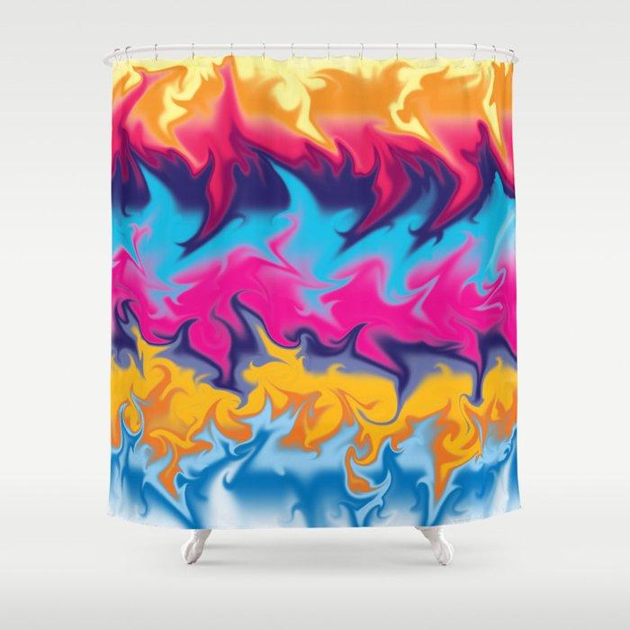 The Blender III Shower Curtain