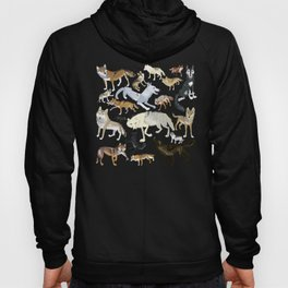 Wolves of the world 1 Hoody