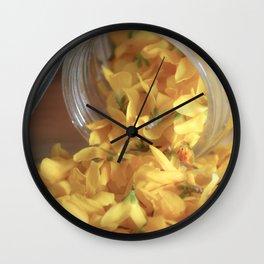 Jar full of Sunshine Wall Clock