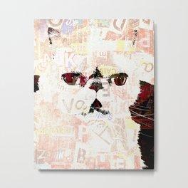 Lord Aries Cat - ART Metal Print