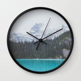 Joffre Lakes  Wall Clock