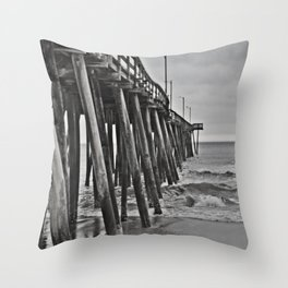 """An Old Feel"" Pier Throw Pillow"