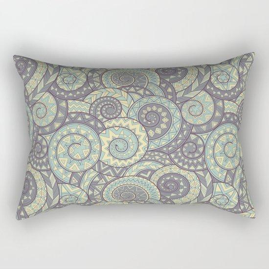 nagual. tribal seamless pattern Rectangular Pillow