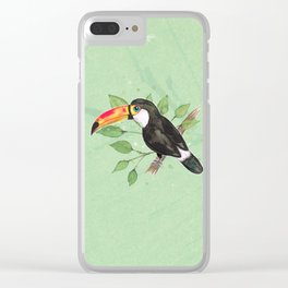Toco toucan Clear iPhone Case