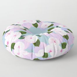 The Camellia Theory Floor Pillow