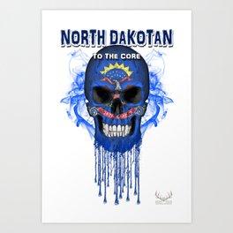 To The Core Collection: North Dakota Art Print