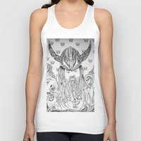 viking Tank Tops featuring Viking by Infra_milk