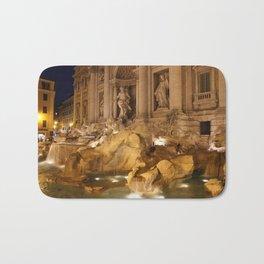 Trevi Fountain - Rome, Italy Bath Mat
