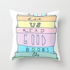 Good Books Throw Pillow