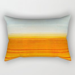 Yellowstone Orange Rectangular Pillow