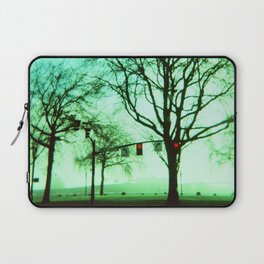 Green Fog Laptop Sleeve