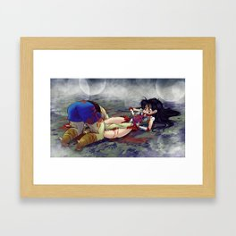 Ultimate Fighting Senshi - Mars Framed Art Print