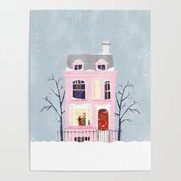 Xmas house Poster