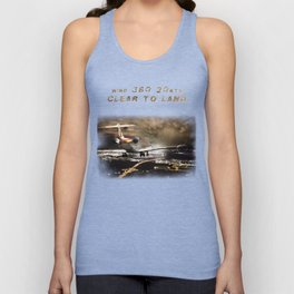 Wind 360 20 kts clear to land Unisex Tank Top