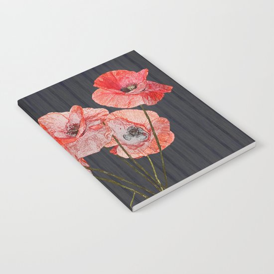 Still life with poppies Notebook