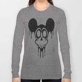 gothic mickey Long Sleeve T-shirt