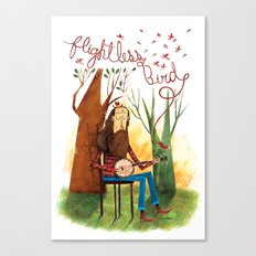 Flightless Bird Canvas Print