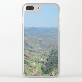French view in the valley Clear iPhone Case