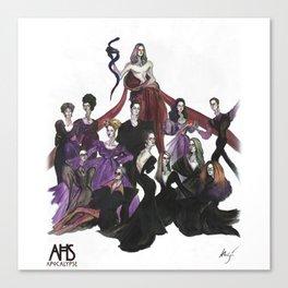 AHS Apocalypse Cast Poster Canvas Print