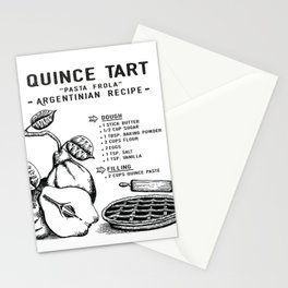Quince Tart Stationery Cards