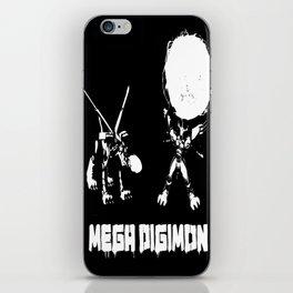 mega digimon iPhone Skin