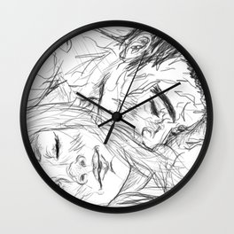 gency [intimate] Wall Clock