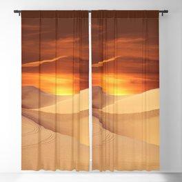 The Sunset On Desert Blackout Curtain
