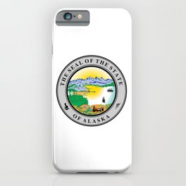 Seal of State of Alaska iPhone Case