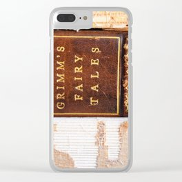 Grimm's Fairy Tales Clear iPhone Case