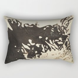 Ink drawing - abstract pattern Rectangular Pillow