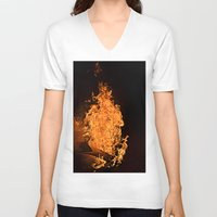 firefly V-neck T-shirts featuring Firefly by Skydre4mer