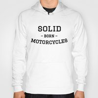 solid Hoodies featuring Solid by MRKLL