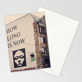 how long is now Stationery Cards