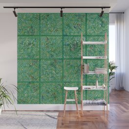 Tropical Hallucinations Wall Mural