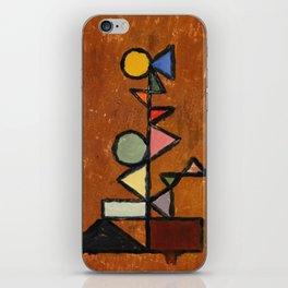 Geometric surreal tree iPhone Skin