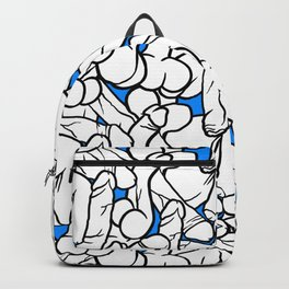 Schlong Song in Blue, All the Penis! Backpack