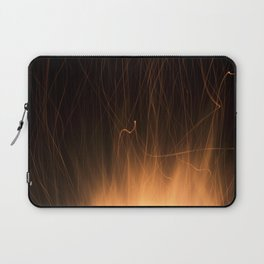 Sparks from a Bonfire Laptop Sleeve