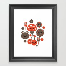 Kawaii Master Framed Art Print