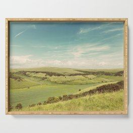Rolling Hills Serving Tray