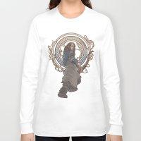 kili Long Sleeve T-shirts featuring Kili in jugendstil by Natasja van Gestel