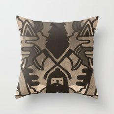 Lumberjack Throw Pillow