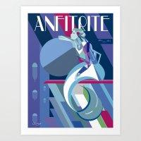 Anfitrite Art Print