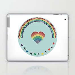 Rainbow Heart LGBTQ Pride Laptop & iPad Skin