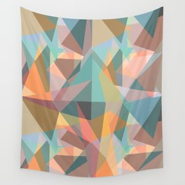 Colorful geometric Wall Tapestry