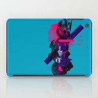 fullmetal alchemist iPad Cases featuring Alchemist Geometry by Largetosti
