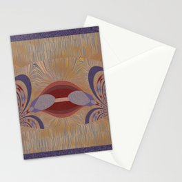 Blue-rusty Design Stationery Cards