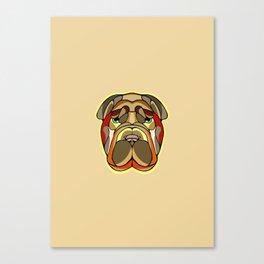 Shar Pei Dog Canvas Print