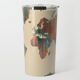 World Map - Navaho Travel Mug