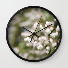 Vintage Inspired Beauty Bush Blossoms Wall Clock