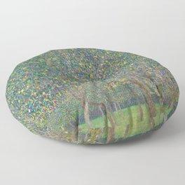 Gustav Klimt - Pear Tree Floor Pillow